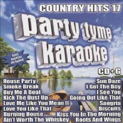 Various - Party Tyme Karaoke: Country Hits 17