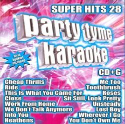 Party Tyme Karaoke - Party Tyme Karaoke: Super Hits 28