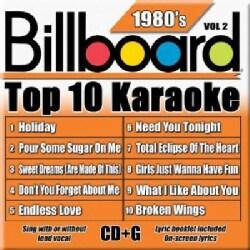 Sybersound Karaoke - Billboard Top 10 Karaoke: 1980's Vol 2