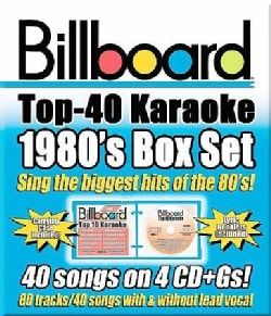 Sybersound - Billboard 1980s Top 40 Karaoke Box Set