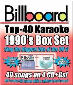 Sybersound - Billboard 1990's Top 40 Karaoke Box Set