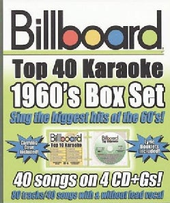Various - Billboard 1960's Top 40 Karaoke Box Set