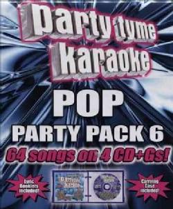 Party Tyme Karaoke - Party Tyme Karaoke: Pop Party Pack 6