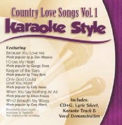 Karaoke Style - Country Love Songs: Vol. 1