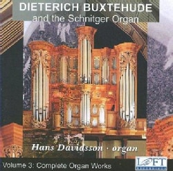 Hans Davidson - Buxtehude: Complete Organ Works: Schnitger Organ, Vol 3