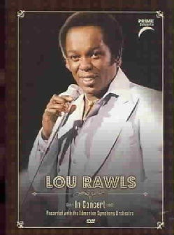 LOU RAWLS - Prime Concerts: In Concert with The Edmonton Symphony Orchestra (Not Rated)