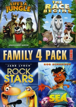 Family Quad Feature: Vol. 8 (DVD)