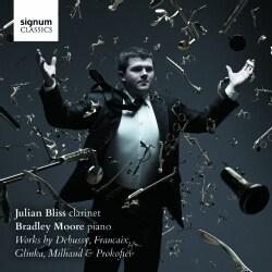 Jean Francaix - Works by Debussy, Glinka, Francaix, Milhaud & Prokofiev