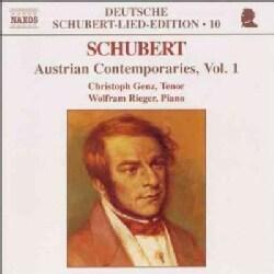 Christoph Genz - Schubert:Austrian Contemporaries V. 1
