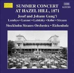 Stockholm Strauss Orchestra - Summer Concert at Hazel Hill, Stockholm in Summer 1871