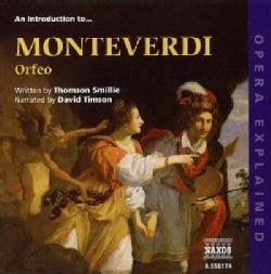 Various - Monteverdi: Introduction to Orfeo