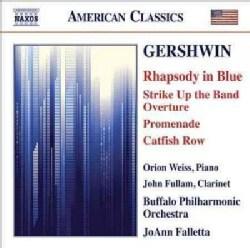 Buffalo Philharmonic Orchestra - Gershwin: Rhapsody in Blue, Strike Up The Band Overture, Promenade, Catfish Row