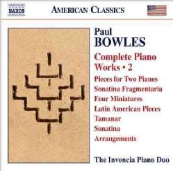 Invencia Piano Duo - Bowles: Complete Works for Piano & Piano Duet: Vol. 2