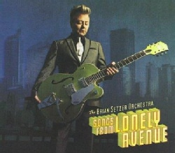 Brian Orchestra Setzer - Songs From Lonely Avenue