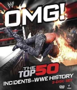 The 50 Most Shocking, Surprising, Amazing Moments In WWE History (DVD)