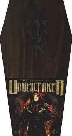 WWE: Undertaker The Streak 21-1 Coffin Box Set (DVD)