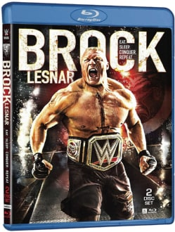 WWE: Brock Lesnar: Eat. Sleep. Conquer. Repeat. (Blu-ray Disc)