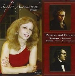 Sophia Agranovich - Beethoven/Chopin: Passion & Fantasy