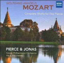 Dorothy Jonas - Mozart: Complete Works For Two Pianos