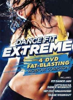 Dance Fit Extreme: 4 DVD Fat-Blasting Workout Collection (DVD)