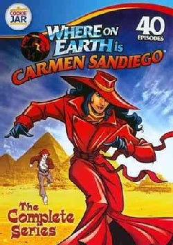 Where On Earth Is Carmen Sandiego: The Complete Series (DVD)