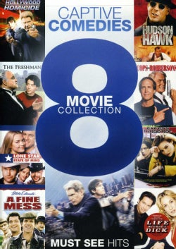 Captive Comedies: 8 Movie Collection (DVD)