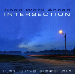 ROAD WORK AHEAD - INTERSECTION