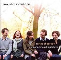 Pierre Prowo - Telemann/Prowo: Tastes of Europe: Telemann Trios & Quartets