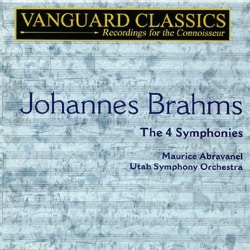 Maurice Abravanel - Brahms:Symphonies