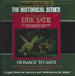 Erik Satie - Homage To Satie: The Orchestral Works