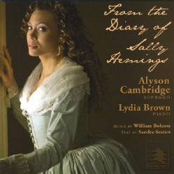 ALYSON & LYDIA BROWN CAMBRIDGE - FROM THE DIARY OF SALLY HEMINGS
