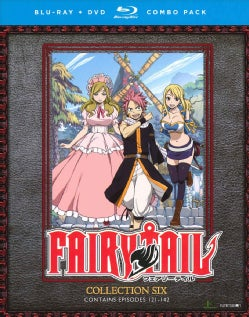 Fairy Tail: Collection Six (Blu-ray/DVD)