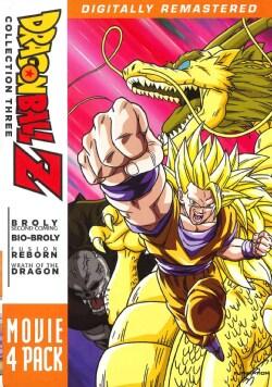 Dragonball Z: Movie Pack 3 (DVD)