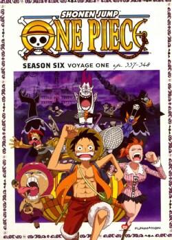 One Piece: Season Six: Voyage One (DVD)
