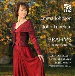 Emma Johnson - Brahms: Clarinet Sonatas