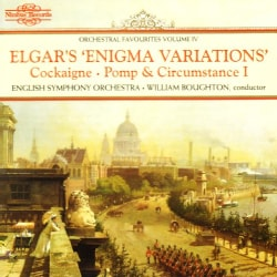 William Boughton - Elgar: Enigma Variations & Orchestral