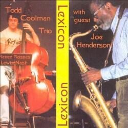 Todd Coolman/Henders - Todd Coolman Trio With Joe Henderson