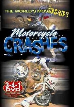 World's Most Insane Motorcycle Crashes (DVD)