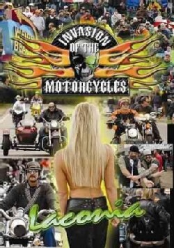 Invasion of the Motorcycles: LaConia Biker Rally (DVD)