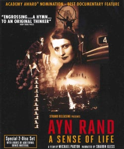 Ayn Rand: A Sense of Life (Blu-ray Disc)
