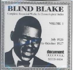 Blind Blake - Blind Blake: Vol. 1: 1926-1927