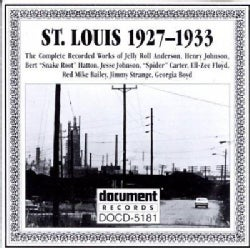 Various - St. Louis: 1927-1933