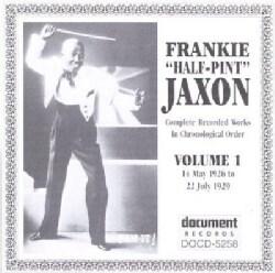 Frankie Jaxon - Frankie Half-Pint Jaxon: Vol. 1