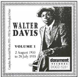 Walter Davis - Walter Davis: Vol. 1: 1933-1935