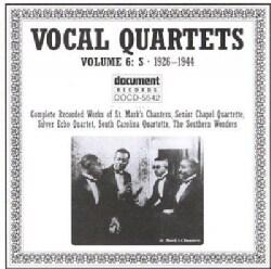 Various - Vocal Quartets: Vol. 6: 1926-1944