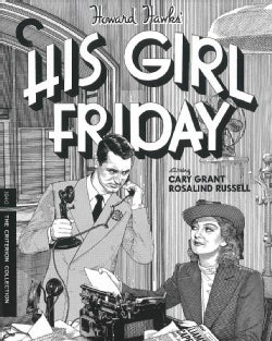 His Girl Friday (Blu-ray Disc)