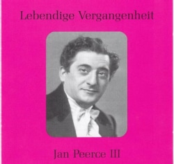 Jan Peerce - L.V. Jan Peerce III
