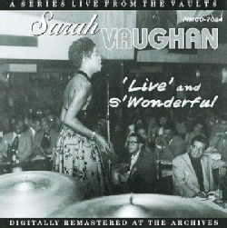 Sarah Vaughan - Live And S'Wonderful