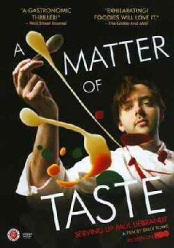 A Matter of Taste: Serving up Paul Liebrandt (DVD)