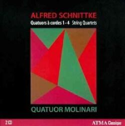 Molinari Quartet - Schnittke: Chamber Music: String Quartets 1-4 Vol. 1